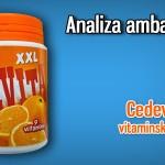 Analiza ambalaže #1 – Cedevita XXL vitaminski bomboni