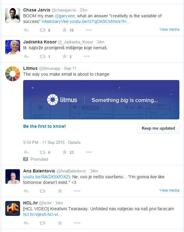 native advertising promoted tweet